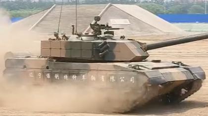150秒盡覽中津防務車輛裝備展