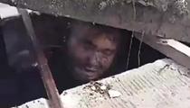 逃避追捕 泰毒販困下水道險喪命