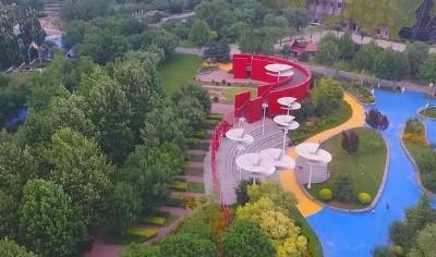 30秒!讓你愛上夏日的河北園博園