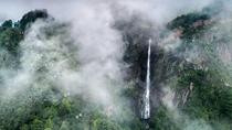 空中俯瞰廬山瀑布是什麼體驗?