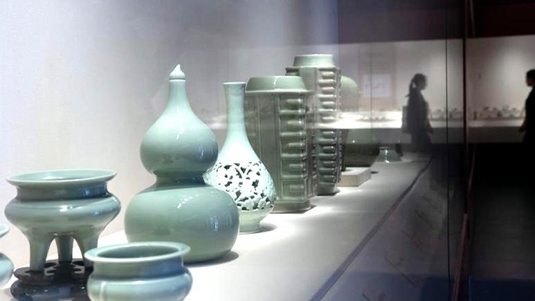 龍泉青瓷特展故宮啟幕:800余件宋元明頂級瓷器亮相