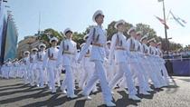 俄羅斯海軍節閱兵彩排在聖彼得堡舉行