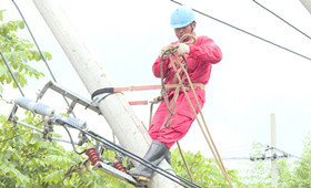 微視頻:安徽宣城受災地區電網基本恢復供電