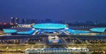 【微視頻】鄭州奧體中心:璀璨夜景迎盛會