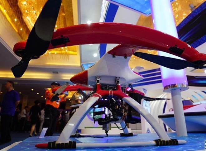 高科技産品亮相2019中國航空産業大會