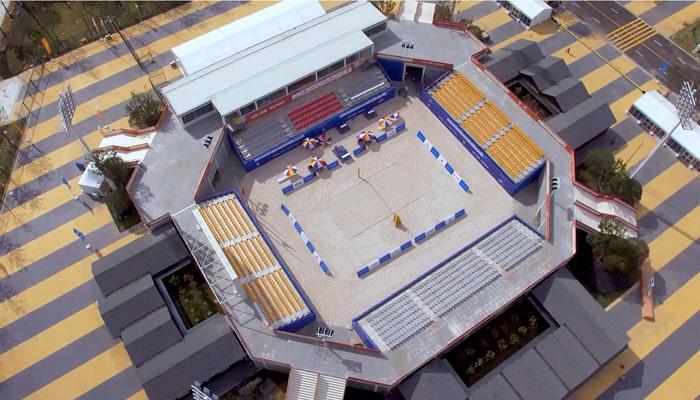 帶你領略 武漢漢陽沙灘排球中心