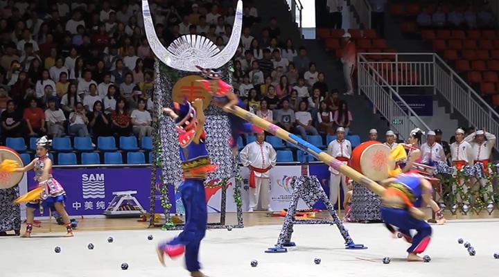 聚焦!第十一屆全國少數民族傳統體育運動會