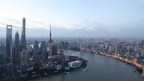 (共和國地標)上海外灘:現代與歷史在黃浦江交匯