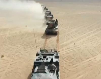 陸軍:戈壁實彈射擊 檢驗火炮打擊能力