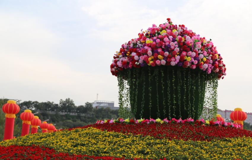 中國各地歡慶國慶