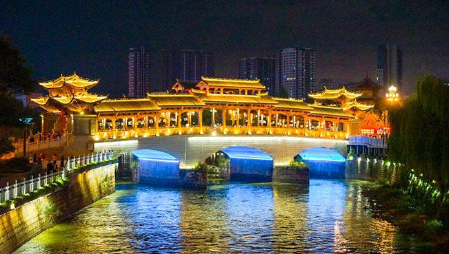 雲南安寧:重現古時集市 同看新城繁華