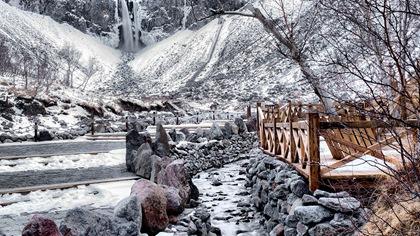 吉林:長白山出現降雪 景區臨時關閉