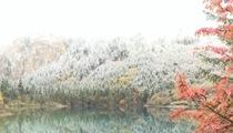 四川阿壩:九寨溝試運行首月迎客16萬人