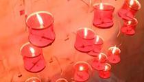 緬甸東枝歡慶點燈節 百枚熱氣球璀璨放飛