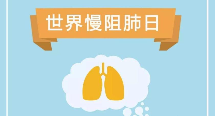 世界慢阻肺日:齊心協力終結慢阻肺