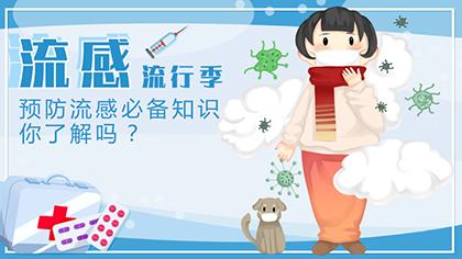 流感流行季來襲 預防流感必備知識你了解嗎?