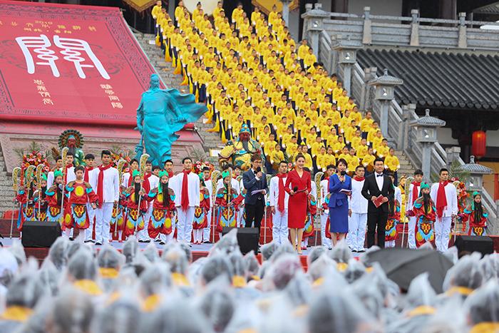 湖北當陽第十屆關公文化旅遊節開幕 譜文化繁榮新篇章