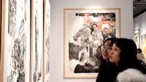 弘揚焦裕祿精神美術作品巡展首展在鄭州開幕