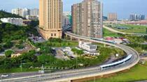 澳門首個軌道交通項目——輕軌氹仔線開通