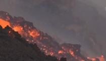 意大利埃特納火山噴發