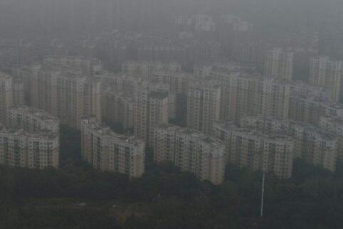 中國多地大霧籠罩