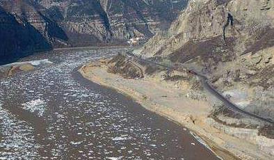 黃河磧口段:峽谷流淩 蔚為壯觀
