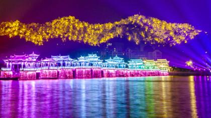 夜讀韓江:橋在畫中、景在詩中