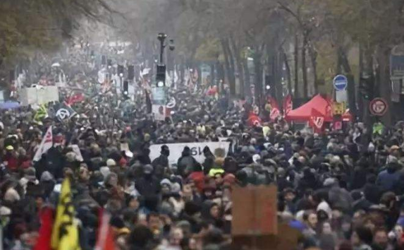 法國:多地交通因罷工受到嚴重影響