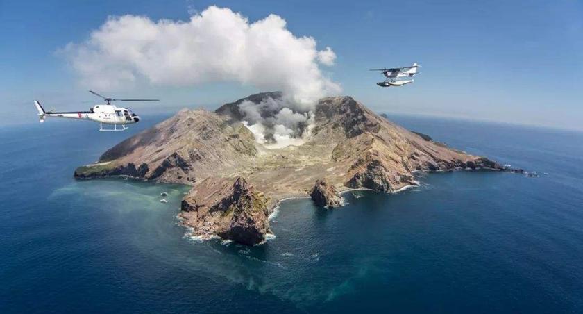 新西蘭懷特島火山噴發——研究機構曾多次發出警告