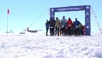 老當益壯 84歲老人完賽南極馬拉松