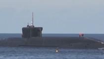 """俄羅斯""""新西伯利亞""""號核潛艇下水"""