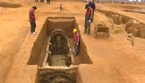 廣州:施工意外收獲 57座千年古墓顯真容