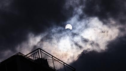 你看你看!福州上空太陽的臉