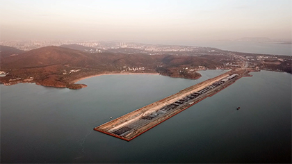 """國內在建最長湖底隧道首次""""陸島轉換"""""""