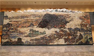 """震撼!72000塊陶瓷展現""""江西如此多嬌"""""""