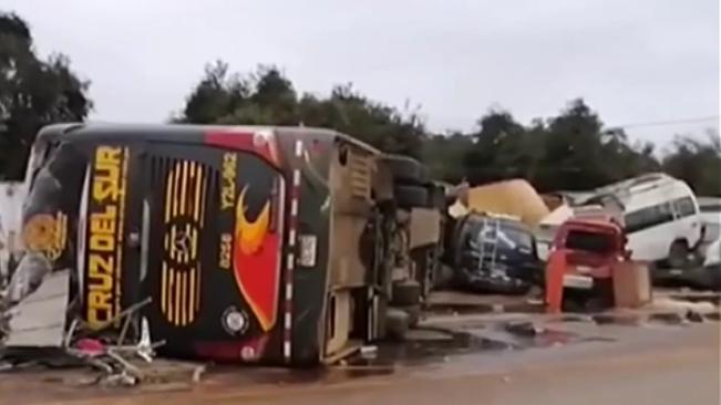 秘魯南部發生交通事故致15人死亡