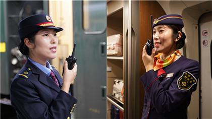 """雙胞胎姐妹列車長""""心連心""""護航春運"""