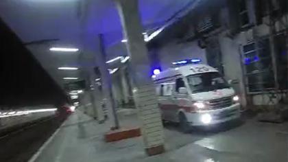 感動!列車與救護車愛心接力救助發病旅客