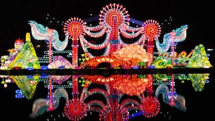 各地新春燈會點亮中國新年