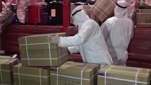 兵分多路 武警全力協助醫療物資運輸