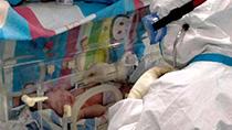 微視頻:隔離病房迎來新生命