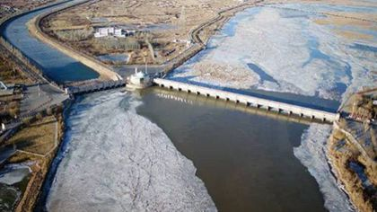 黃河內蒙古段開河進入關鍵期
