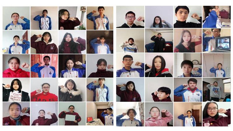 主題團日線上過 三地學子齊唱《國家》戰疫情