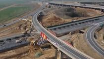 山東齊河:京臺高速擴建改造 部分路段封閉