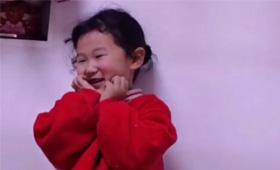 【新華網連線湖北】幸福太突然,萌娃用盡了所有想媽的表情