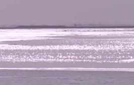 黃河包頭九原河段出現分段開河