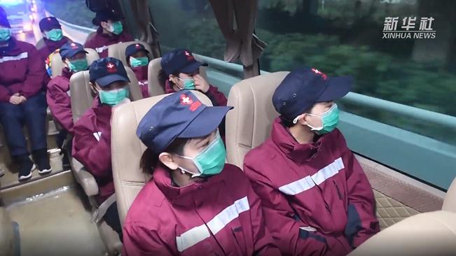 我們在武漢|今早首批醫療隊撤離武漢