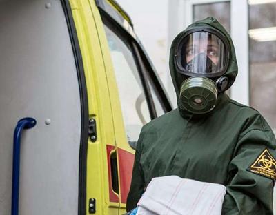 俄羅斯:輻射 化學和生物防護部隊進行防疫演習