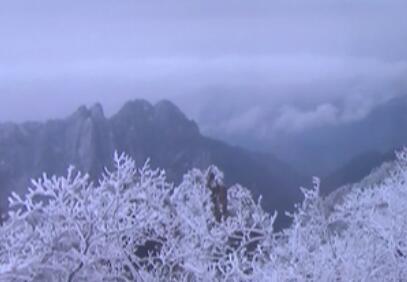 安徽多地降雪 最新雪景出爐