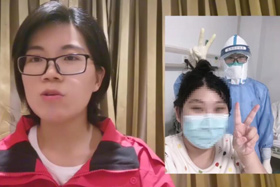 """【湖北救援日記】Vlog:隔離病房裏的""""知心姐姐"""""""
